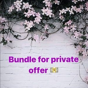 Bundle for private offer!